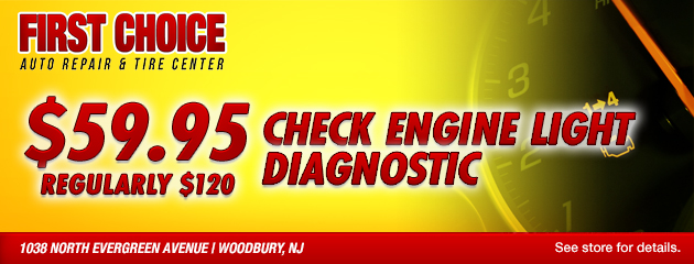 Check Engine Light Diagnostic Special