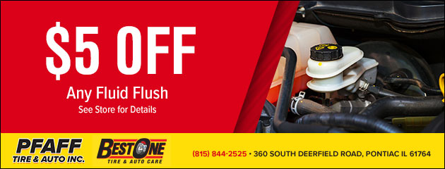 $5 Off Any Fluid Flush