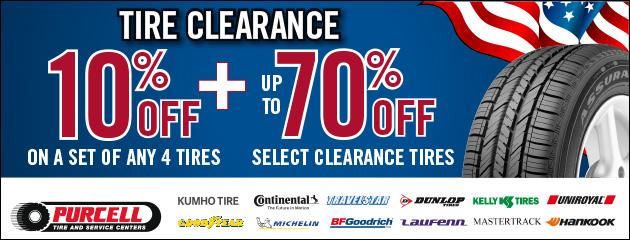 Tire Clearance Special