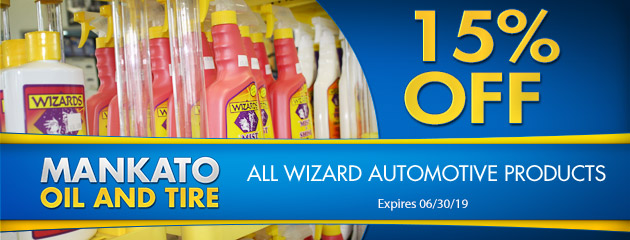 15% Off All Wizard Products