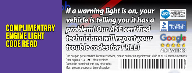 Engine Light Code Read