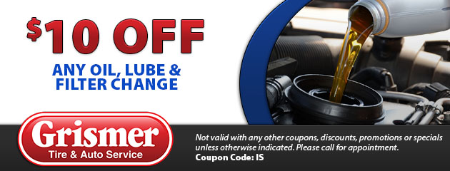 Oil Change Coupons Columbus Ohio >> Tires Coupons Grismer Tire Company