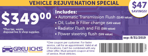 Vehicle Rejuvenation Special