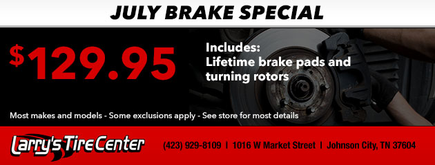 July Brake Special