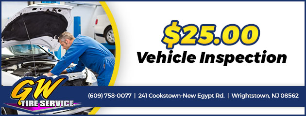 $25 Vehicle Inspection