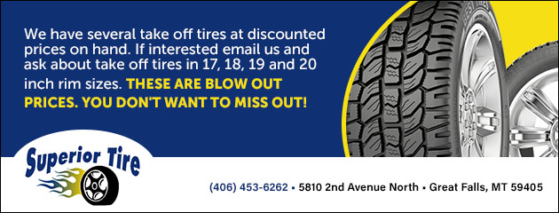 Tire Take Off Discounts