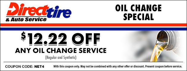 $12.22 Off Oil Change Special