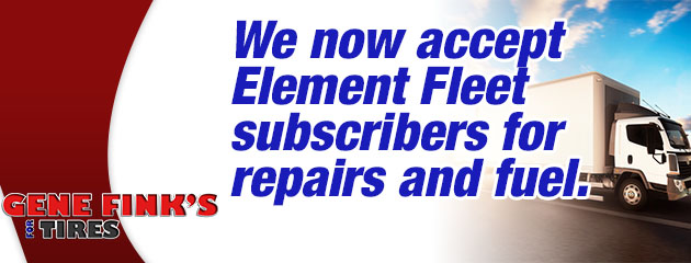 Get a Tire QuoteNow Accepting Element Fleet Subscribers