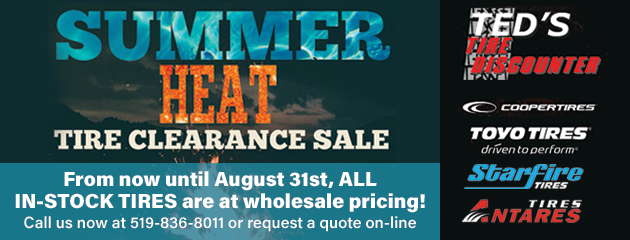 Summer Heat Tire Clearance Sale!