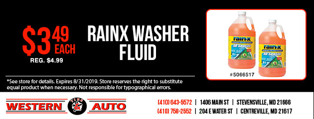 Rainx Washer Fluid