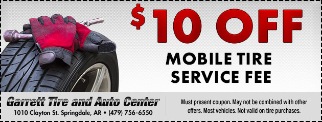 Mobile Tire Service Special