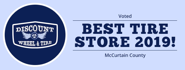 Voted Best Tire Store 2019 McCurtain County