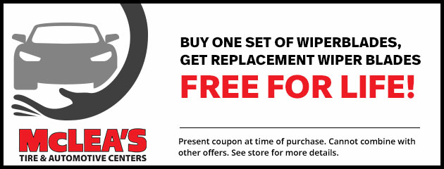 Free Replacement Wiper Blades