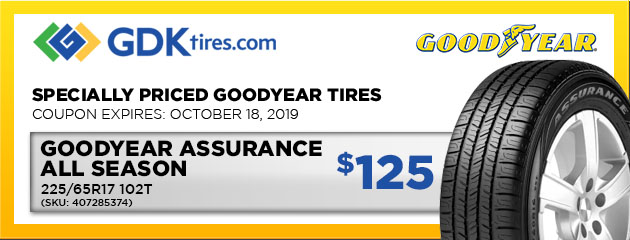 Goodyear Assurance All Season 225/65R17 102T