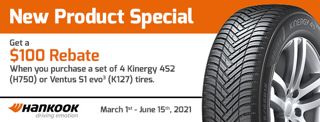 Hankook - New Product Special