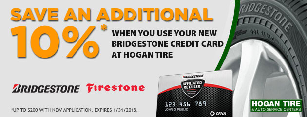 Want a better way to pay? Hogan Bridgestone Firestone CFNA