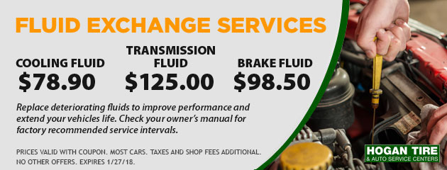 Fluid Exchange Services Special