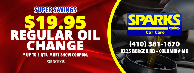 $19.95 Regular OIL CHANGE