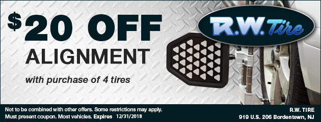 $20 Off Alignment