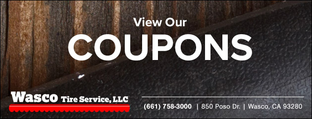 Wasco Tire Services Savings