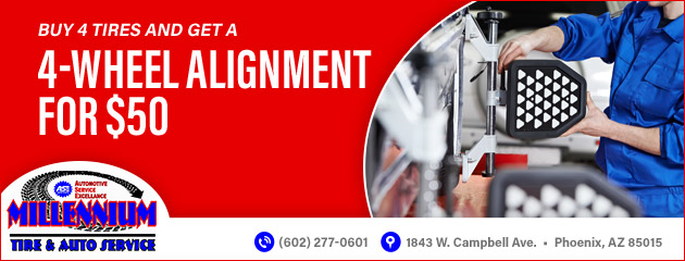$50 Wheel Alignment
