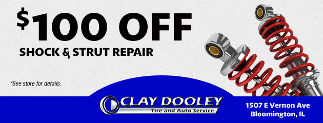 $100 Off Shock & Strut Repair