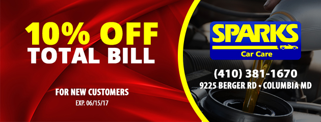 10% off total bill for new customers