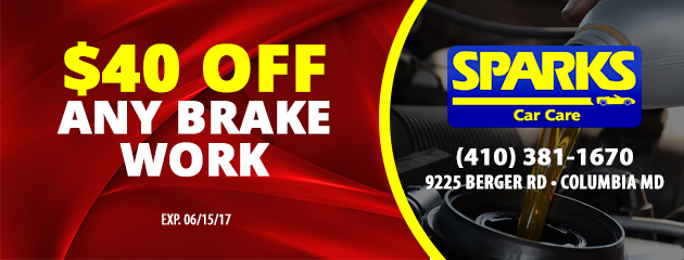 $35 Off Any Brake Work Special