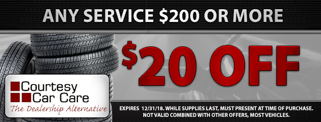$20 Off Any Service $200 or more