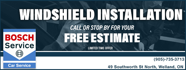 Free Estimates on Windshield Installation