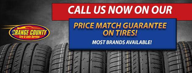 Orange County Tire and Auto Service | Chester NY Tires