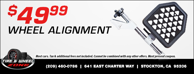 $49.99 - Wheel Alignment