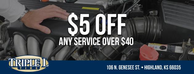 $5 off any service over $40