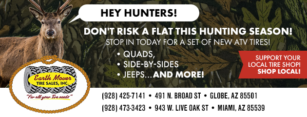 Don't Risk a Flat This Hunting Season!