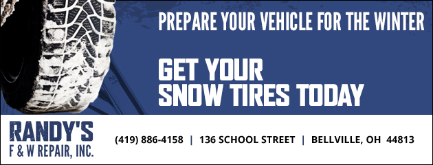 Prepare for Winter - Get your Snow Tires Today