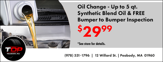 Oil Change Special $29.99