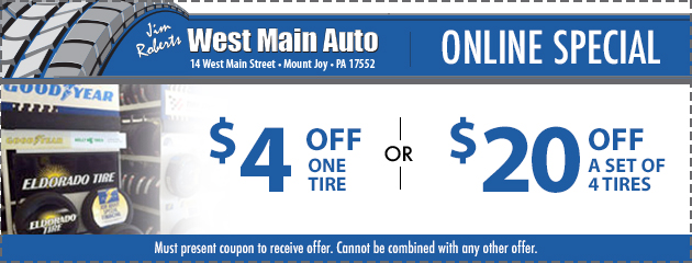 Tire Savings Special