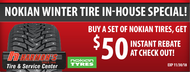 Nokian Winter Tire In-House Rebate