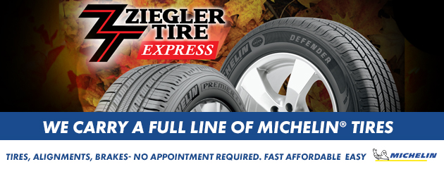 We Carry A Full Line of Michelin Tires