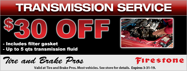 $30 Off Transmission Service Special
