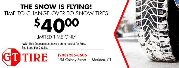 Snow Tire Change Overs