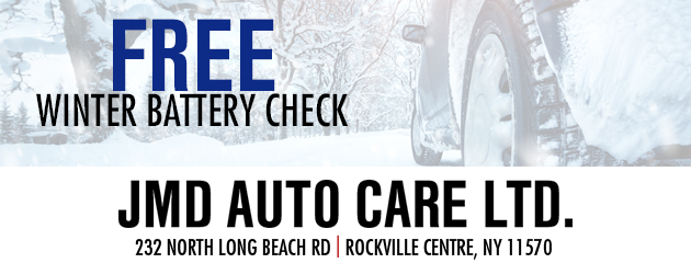 Free Winter Battery Check