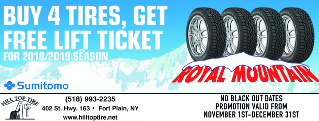 Buy 4 tires, Get a Free lift ticket