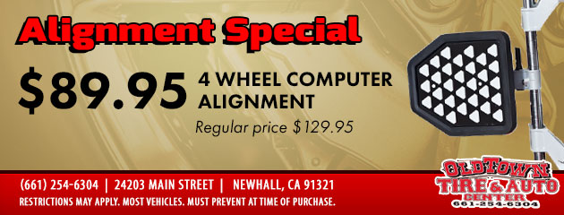 4-Wheel Alignment Special