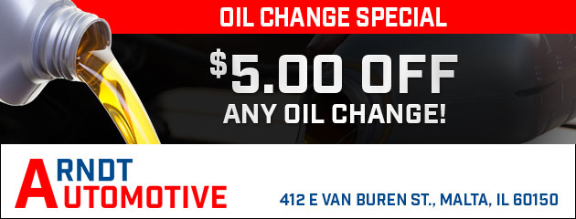 $5 Off Any Oil Change!
