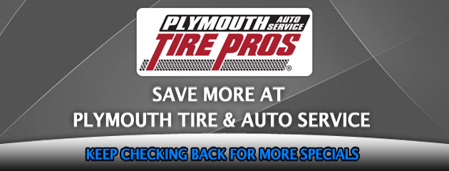 Plymouth Tire_Coupons Specials