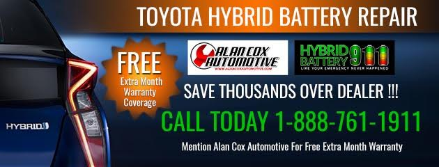 Toyota Hybrid Battery Repair!