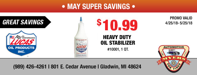 $10.99 Heavy Duty Oil Stabilizer