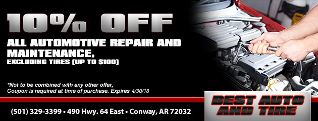 10% Off All Automotive Repair & Maintenance