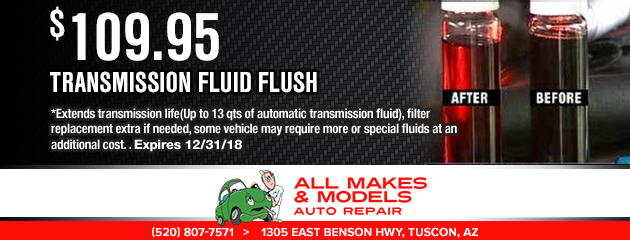 Transmission Fluid Flush